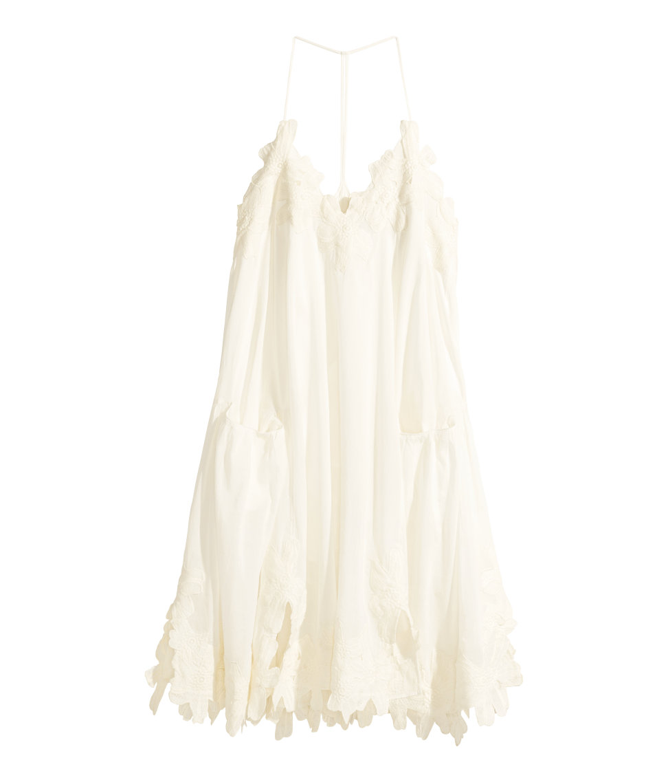 Cotton Dress at H&m